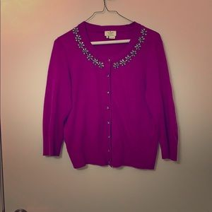 Beautiful Kate Spade embellished cardigan